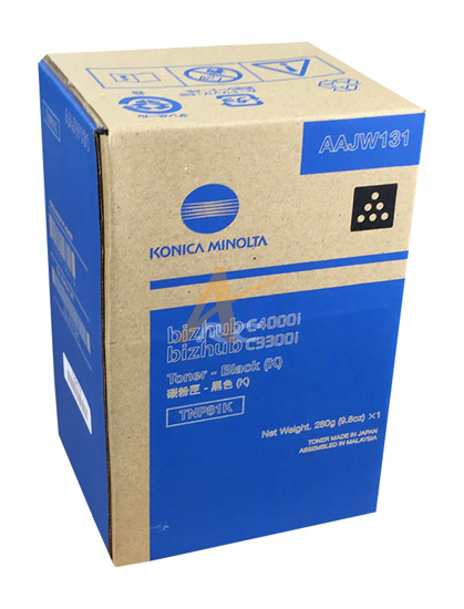 Picture of Konica Minolta TNP81K Black Toner for bizhub C3300i C4000i